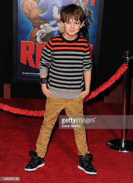 """Max Charles arrives at the """"Wreck It Ralph"""" - Los Angeles Premiere at the El Capitan Theatre on October 29, 2012 in Hollywood, California."""