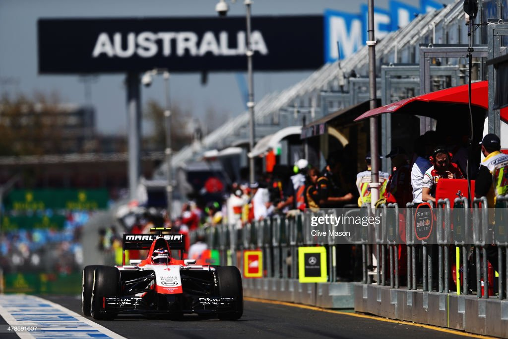 Australian F1 Grand Prix - Practice : News Photo