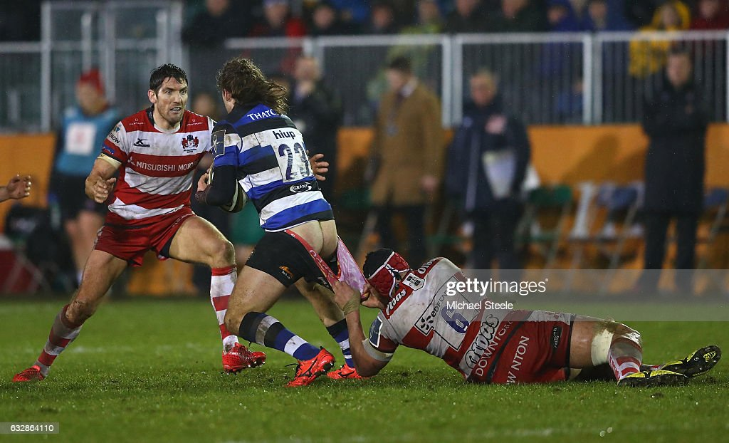 Bath Rugby v Gloucester Rugby - Anglo-Welsh Cup