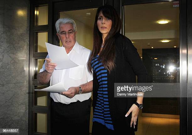 Max Clifford and Vanessa Perroncel attend press conference regarding recent allegations of an affair with John Terry John Terry was dropped as...