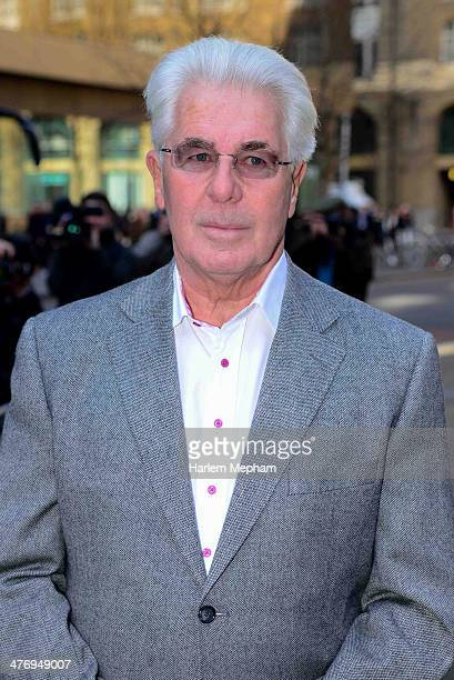 Max Clifford arrives at Southwark Crown Court on March 6 2014 in London England