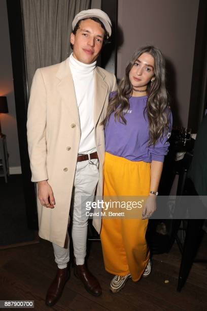 Max Cocking and Harriet Rose attend Collette Cooper's birthday party and the launch of the Collette Cooper edition candle by Monroe Of London at The...
