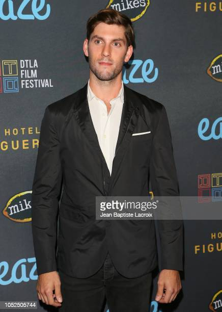 Max Curnin attends the 2018 Downtown Los Angeles Film Festival - 'All Creatures Here Below' 'Original Sin' And Perception' Press line held at Regal...