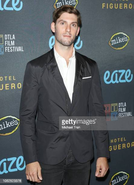 """Max Curnin attends the 2018 Downtown Los Angeles Film Festival - """"All Creatures Here Below"""" """"Original Sin"""" And Perception"""" Press line held at Regal..."""