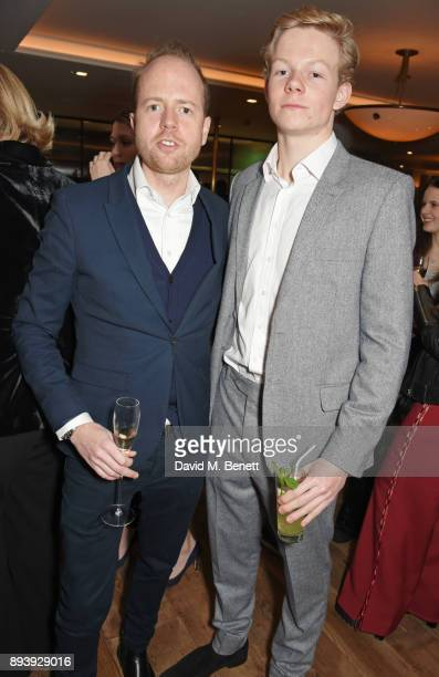 Max Dundas and Alexander Dundas attend Alexander Dundas's 18th birthday party hosted by Lord and Lady Dundas on December 16 2017 in London England