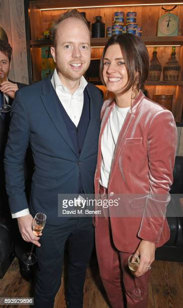 Max Dundas and Claire Dundas attend Alexander Dundas's 18th birthday party hosted by Lord and Lady Dundas on December 16 2017 in London England