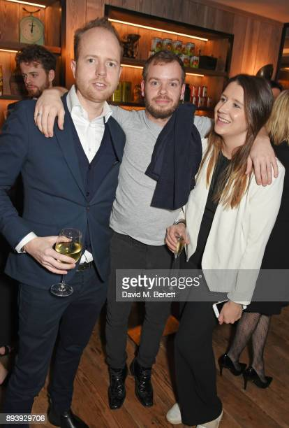 Max Dundas Harry Dundas and Loulou Dundas attend Alexander Dundas's 18th birthday party hosted by Lord and Lady Dundas on December 16 2017 in London...