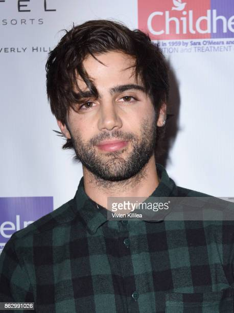 Max Ehrich attends Childhelp Hollywood Heroes on October 18 2017 in Beverly Hills California