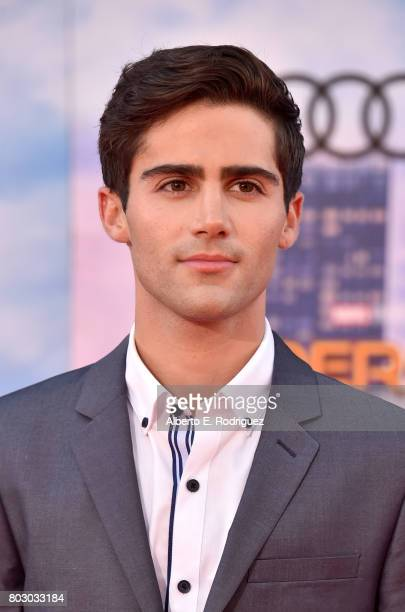 Max Ehrich attends the premiere of Columbia Pictures' SpiderMan Homecoming at TCL Chinese Theatre on June 28 2017 in Hollywood California