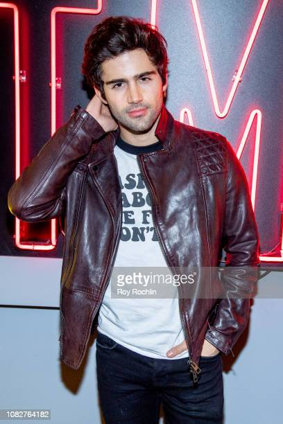 Max Ehrich attends the Susanne Bartsch and David Barton's Toy Drive at TMPL West Village at TMPL West Village on December 14 2018 in New York City