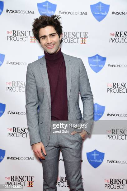 Max Ehrich attends Vision 2020 BALL By The Rescue Project / Haven Hands Inc on December 12 2018 in New York City