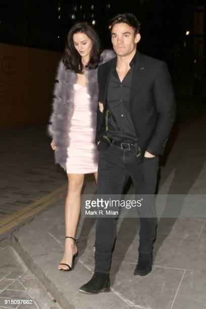 Max Evans attending the InStyle EE Rising Star Party Ahead Of The EE BAFTAs At The Granary Square Brasserie on February 6 2018 in London England