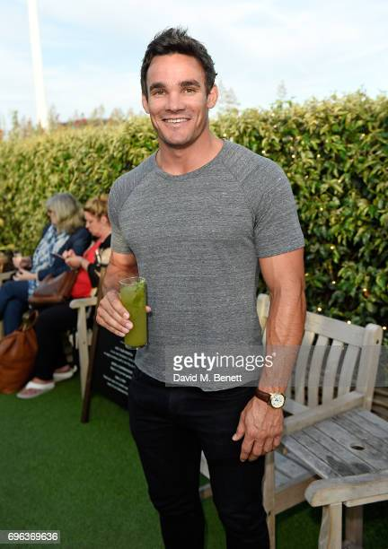 Max Evans attends Microsoft's Surface Garden Sessions at The Gardening Society on June 15 2017 in London England