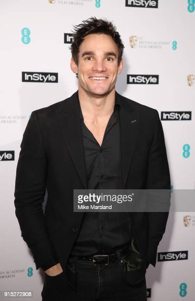 Max Evans attends the EE InStyle Party held at Granary Square Brasserie on February 6 2018 in London England
