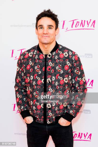 Max Evans attends the 'I Tonya' UK premiere held at The Curzon Mayfair on February 15 2018 in London England