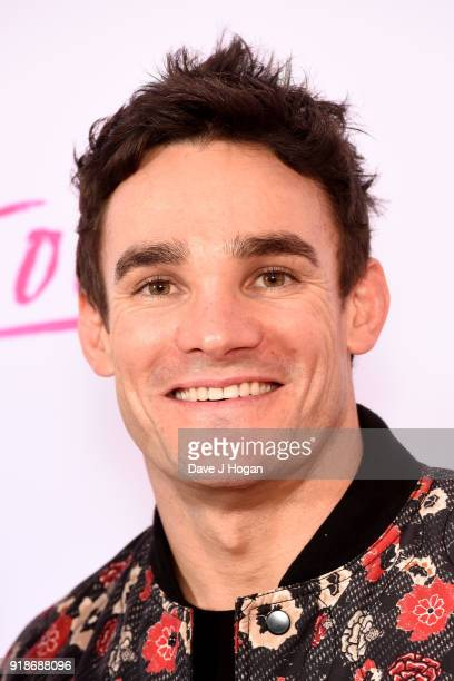 Max Evans attends the 'I Tonya' UK premiere held at The Washington Mayfair Hotel on February 15 2018 in London England