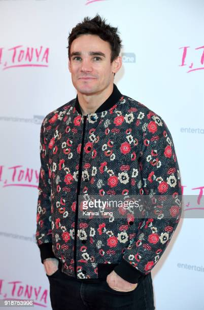 Max Evans attends the 'I Tonya' UK premiere held at The Washington Mayfair on February 15 2018 in London England