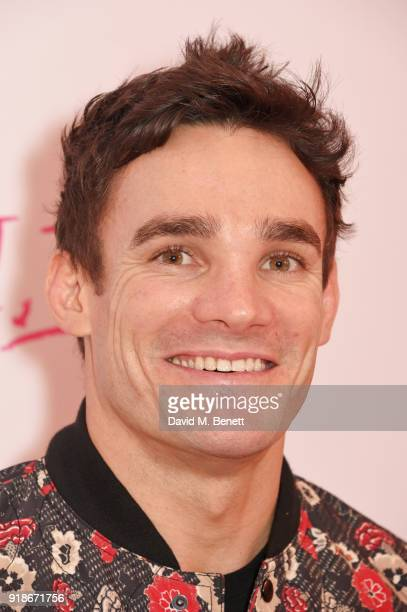 Max Evans attends the UK Premiere of 'I Tonya' held at The Washington Mayfair on February 15 2018 in London England