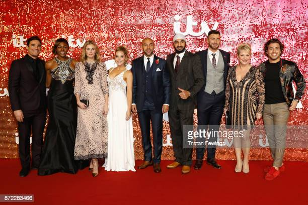 Max Evans Perri ShakesDrayton Donna Air Stephanie Waring Monty Panesar Alex Beresford Jake Quickenden Cheryl Baker and Kem Cetinay arriving at the...