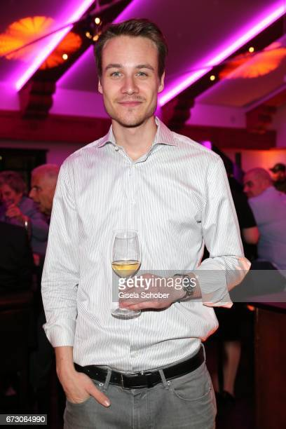 Max Felder during the piano night hosted by Wempe and Glashuette Original at Gruenwalder Einkehr on April 25 2017 in Munich Germany