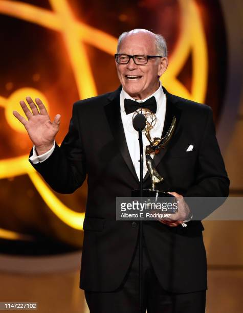 Max Gail accepts the Outstanding Supporting Actor in a Drama Series award for 'General Hospital' onstage at the 46th annual Daytime Emmy Awards at...