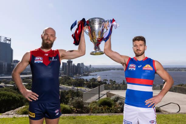 AUS: 2021 AFL Grand Final Captain's Media Opportunity