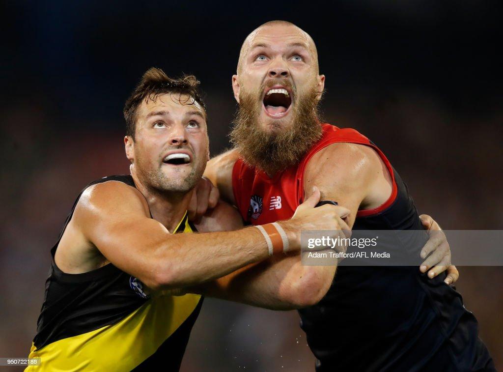 AFL Rd 5 - Melbourne v Richmond : News Photo