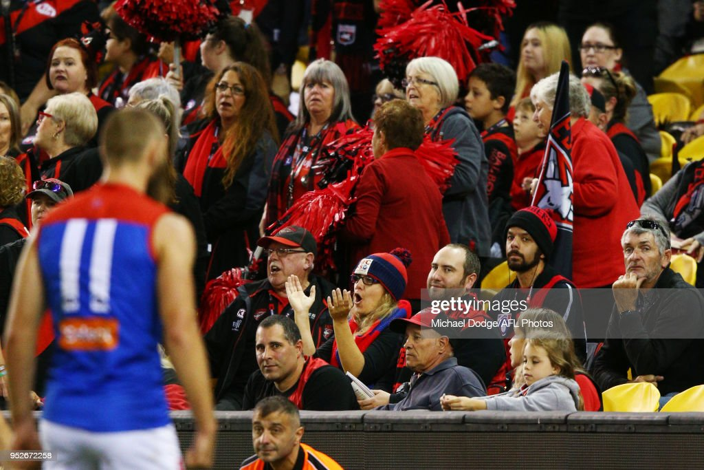 AFL Rd 6 - Essendon v Melbourne : News Photo