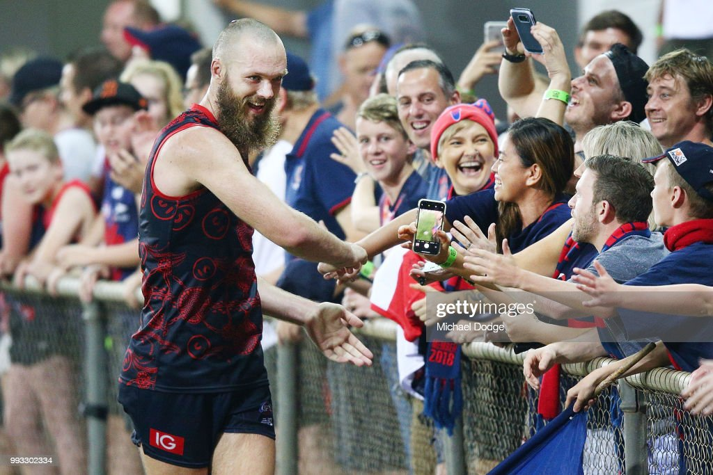 AFL Rd 16 - Melbourne v Fremantle : News Photo