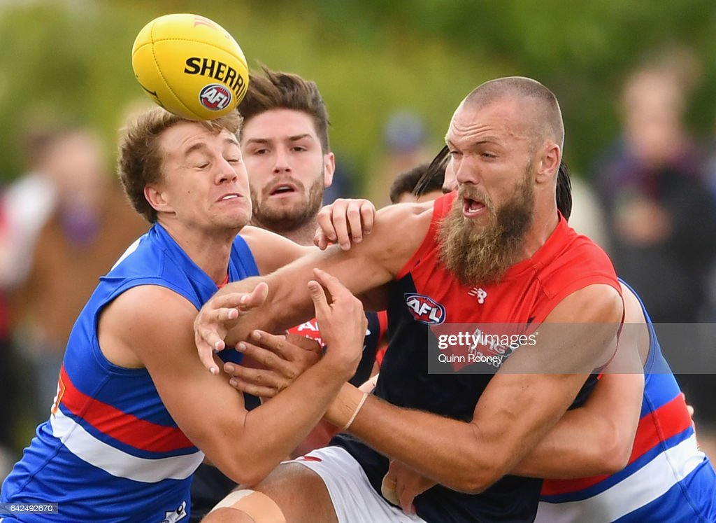 Western Bulldogs v Melbourne - 2017 JLT Community Series : News Photo