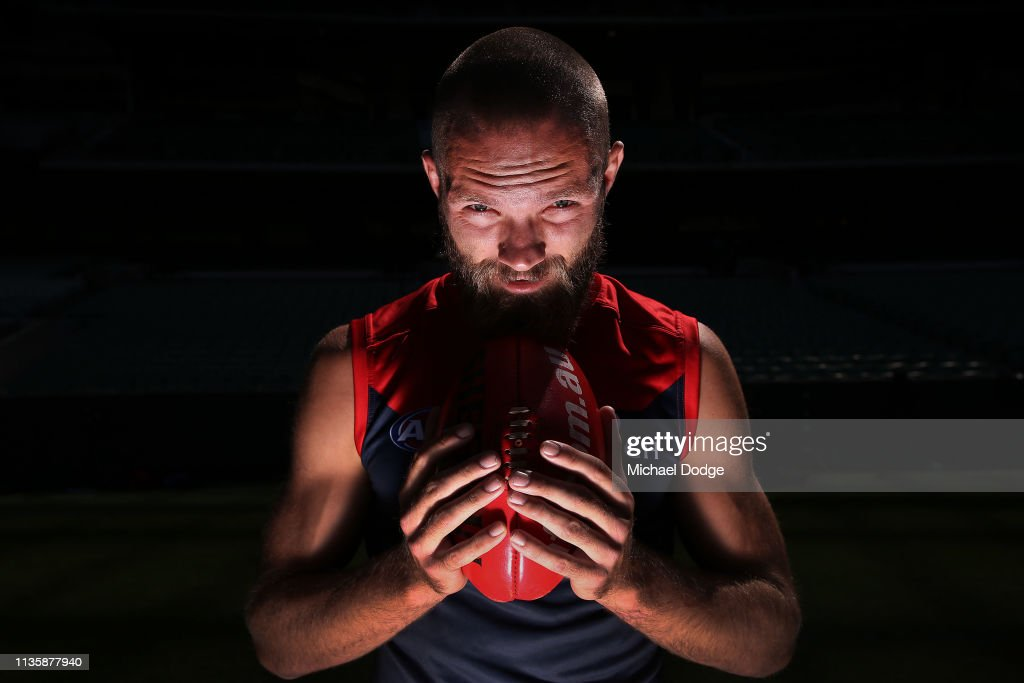 AFL Captains Media Opportunity : News Photo