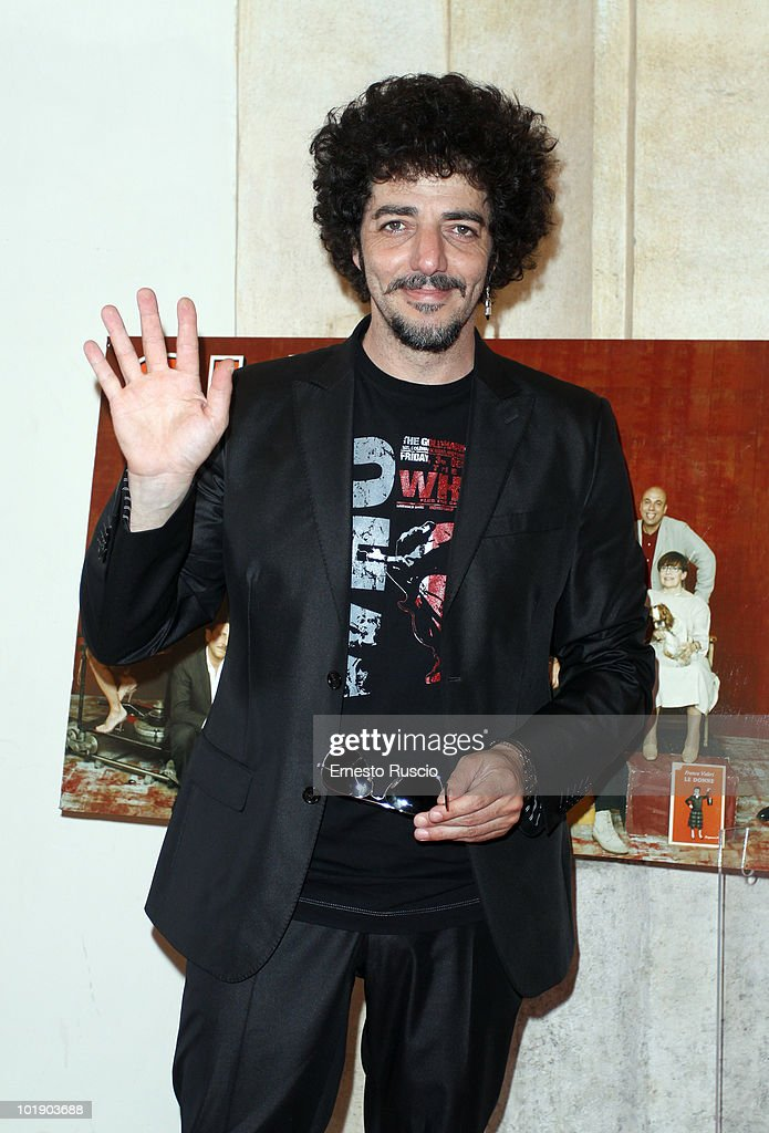 Max Gazze attends the 'Ciak D'Oro' awards ceremony on June 8, 2010 in Rome, Italy.