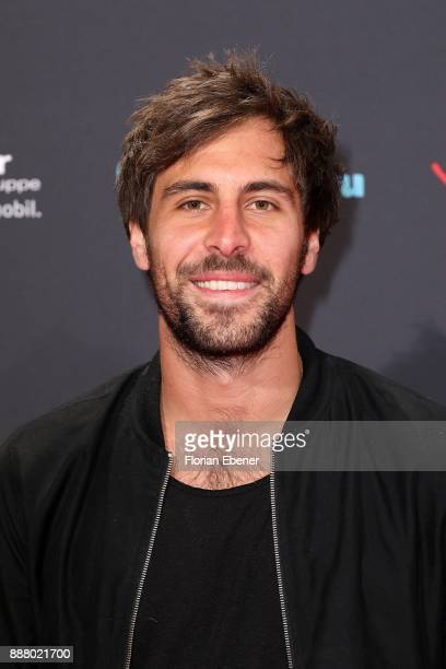 Max Giesinger attends the 1Live Krone at Jahrhunderthalle on December 7 2017 in Bochum Germany