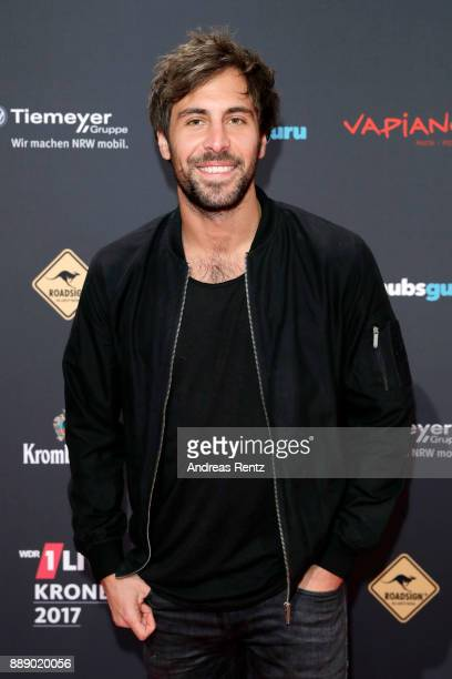 Max Giesinger attends the 1Live Krone radio award at Jahrhunderthalle on December 07 2017 in Bochum Germany