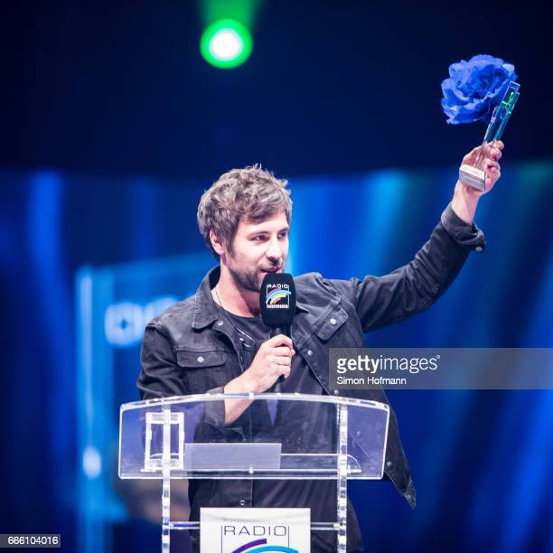 Max Giesinger is awarded during the Radio Regenbogen Award 2017 at Europapark on April 7 2017 in Rust Germany