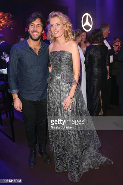Max Giesinger Maria Furtwaengler during the Bambi Awards 2018 after party at Stage Theater on November 16 2018 in Berlin Germany