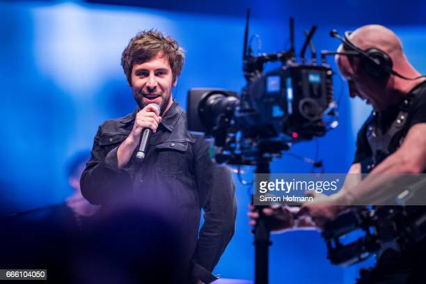 Max Giesinger performs during the Radio Regenbogen Award 2017 at Europapark on April 7 2017 in Rust Germany