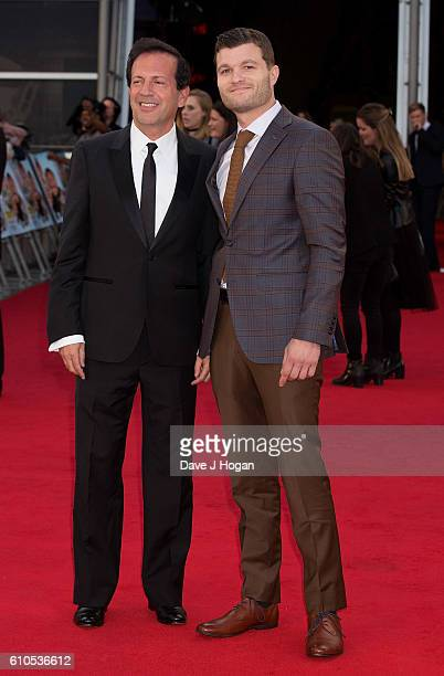 Max Gottlieb and Peter Vass attend the Laid In America World Premiere at Cineworld 02 Arena on September 26 2016 in London England