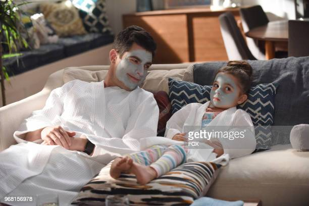 """Max Greenfield and Danielle/Rhiannon Rockoff in """"Godparents,"""" the first part of the special one-hour NEW GIRL episode airing Tuesday, May 8 on FOX."""