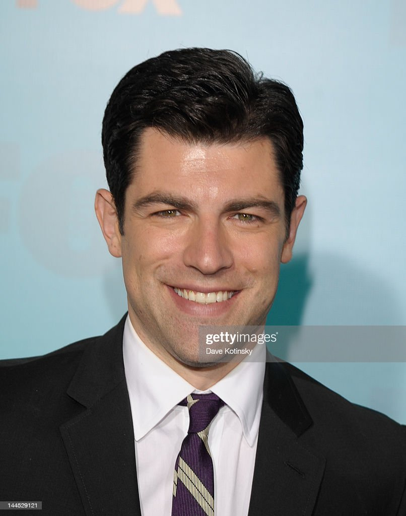 Max Greenfield attends attends the Fox 2012 Programming Presentation Post-Show Party at Wollman Rink - Central Park on May 14, 2012 in New York City.