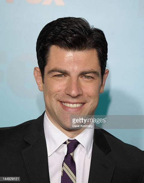 Max Greenfield attends attends the Fox 2012 Programming Presentation PostShow Party at Wollman Rink Central Park on May 14 2012 in New York City