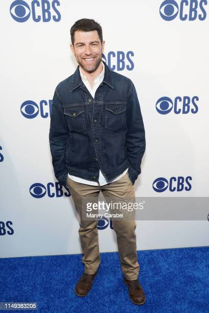 Max Greenfield attends the 2019 CBS Upfront at The Plaza on May 15 2019 in New York City