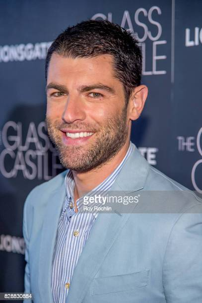 Max Greenfield attends 'The Glass Castle' New York screening at SVA Theatre on August 9 2017 in New York City