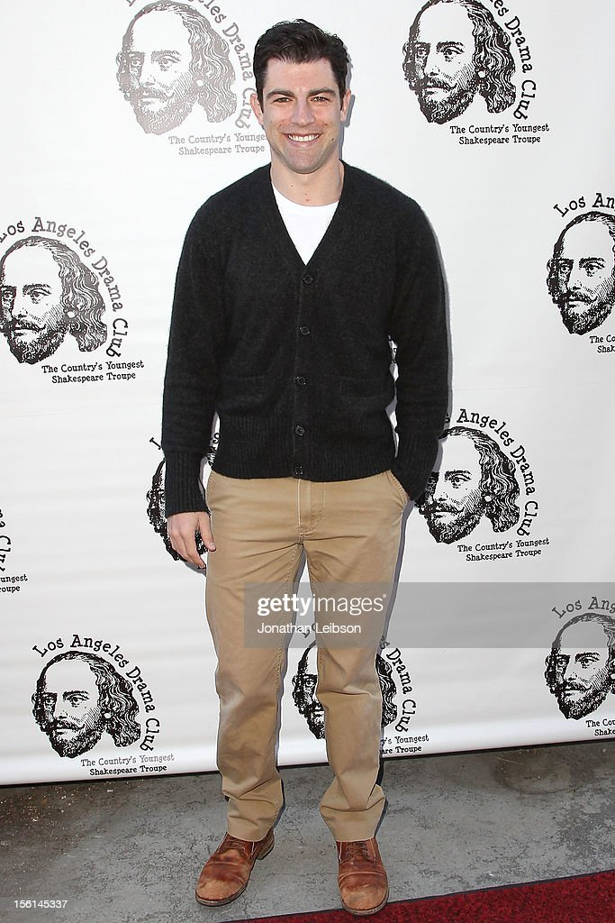 Max Greenfield attends The Los Angeles Drama Club And Magic Castle Host 1st Gala Fundraiser And Benefit Performance 'Tempest In A Teacup' at The Magic Castle on November 11, 2012 in Hollywood, California.