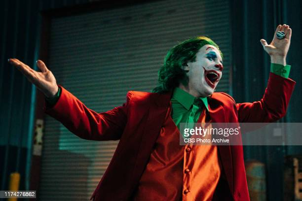 Max Greenfield, Cedric the Entertainer, and Seth Green join James Corden for a Clown Fight during The Late Late Show with James Corden airing...