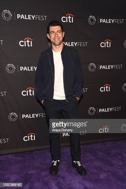 """Max Greenfield from """"The Neighborhood"""" attends The Paley Center for Media's 2018 PaleyFest Fall TV Previews - CBS at The Paley Center for Media on..."""