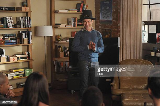 """Max Greenfield in the """"Thanksgiving IV"""" episode of NEW GIRL airing Tuesday, Nov. 25, 2014 on FOX."""