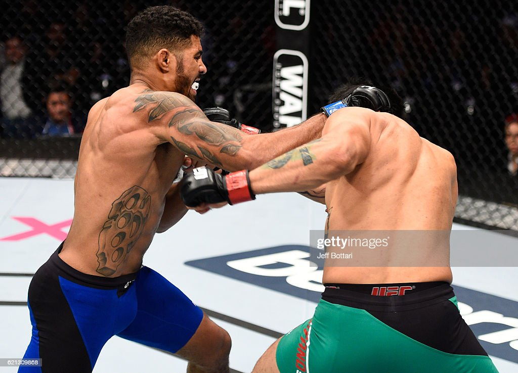 UFC Fight Night: Montano v Griffin : News Photo