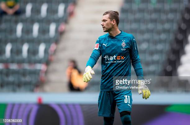 Max Gruen of Borussia Moenchengladbach is seen during the Pre-Season friendly match between Borussia Moenchengladbach and SpVgg Fuerth at...
