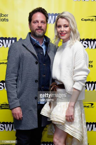 Max Handelman and Elizabeth Banks attend Shrill Premiere during the 2019 SXSW Conference and Festivals at Stateside Theater on March 11 2019 in...
